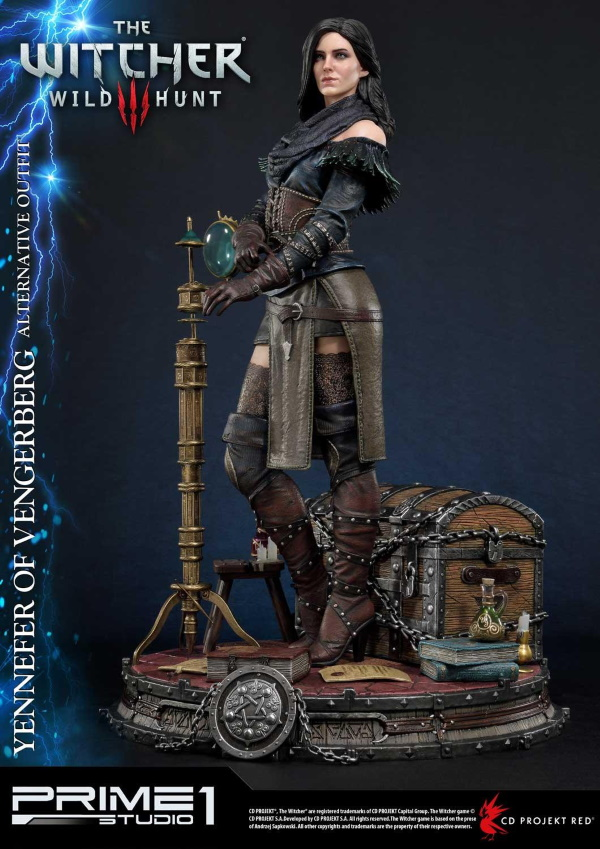 The Witcher 3 – Yennefer of Vengerberg Alternative Outfit Statue Wither16