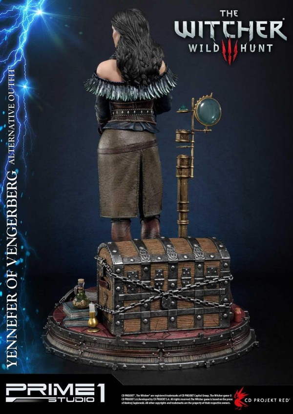 The Witcher 3 – Yennefer of Vengerberg Alternative Outfit Statue Wither17