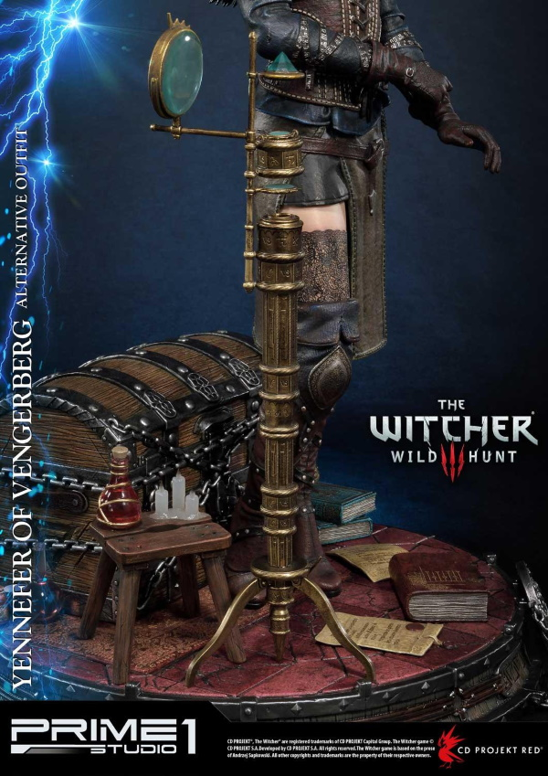 The Witcher 3 – Yennefer of Vengerberg Alternative Outfit Statue Wither21