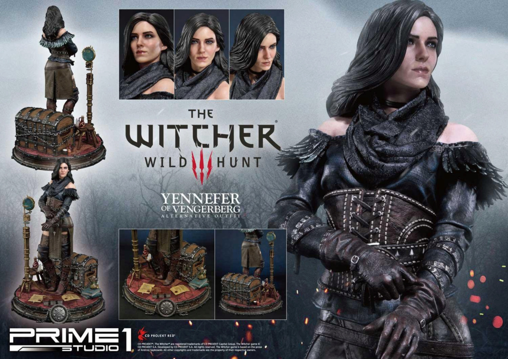 The Witcher 3 – Yennefer of Vengerberg Alternative Outfit Statue Wither23