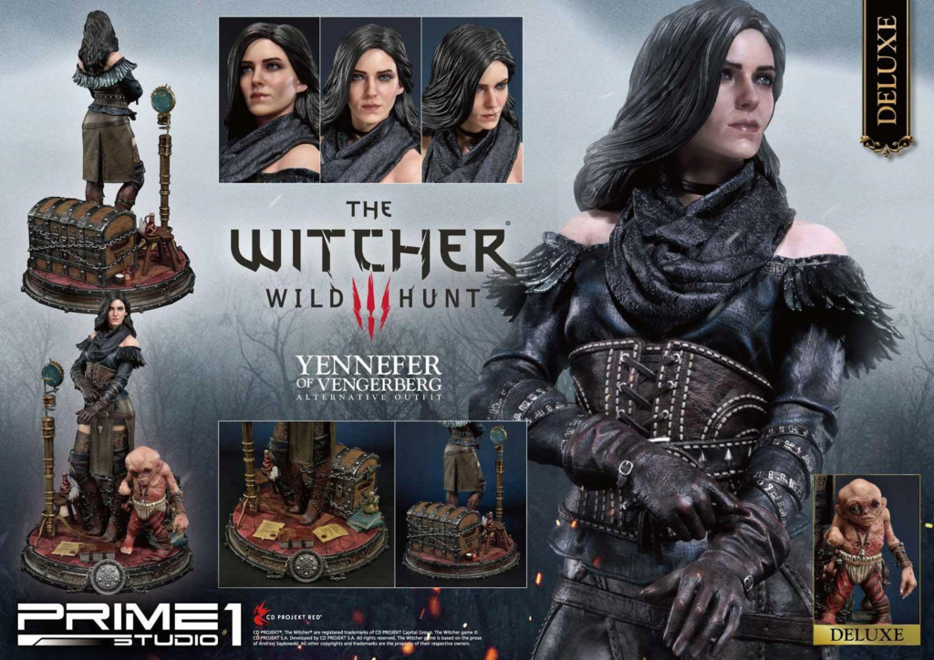 The Witcher 3 – Yennefer of Vengerberg Alternative Outfit Statue Wither24