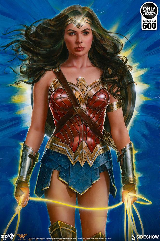 The Wonder Woman: Lasso of Truth Fine Art Print by Artist Olivia De Berardinis Wonder49