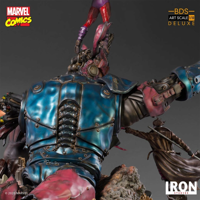 IRON STUDIOS : X-Men vs Sentinel 1/10 Scale Deluxe Battle Diorama Series Statue #2 X-men-26