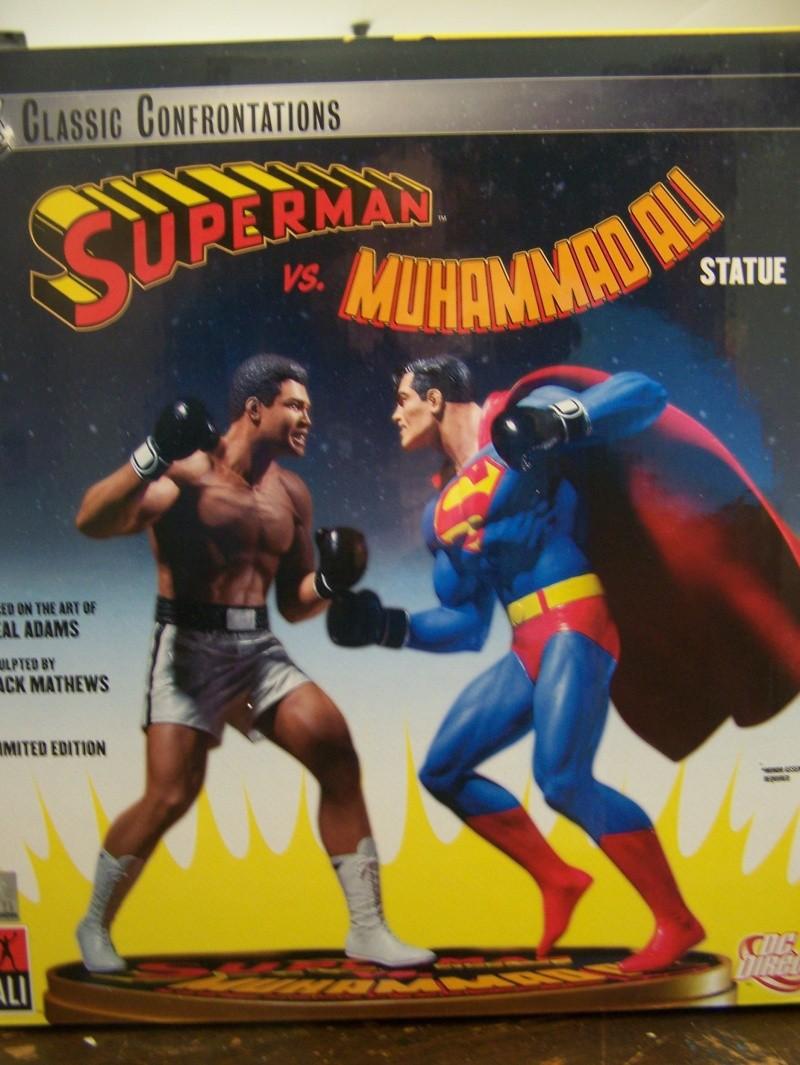Superman versus Mohamed Ali diorama par DC Direct - Page 2 100_5311