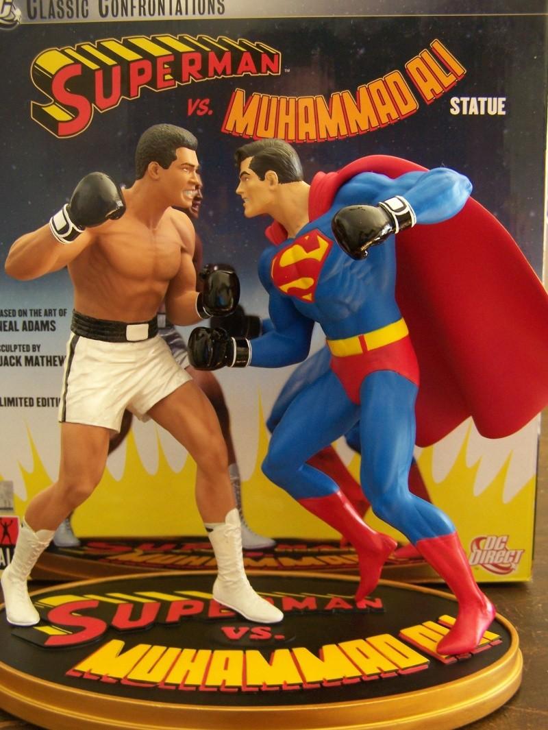 Superman versus Mohamed Ali diorama par DC Direct - Page 2 100_5312