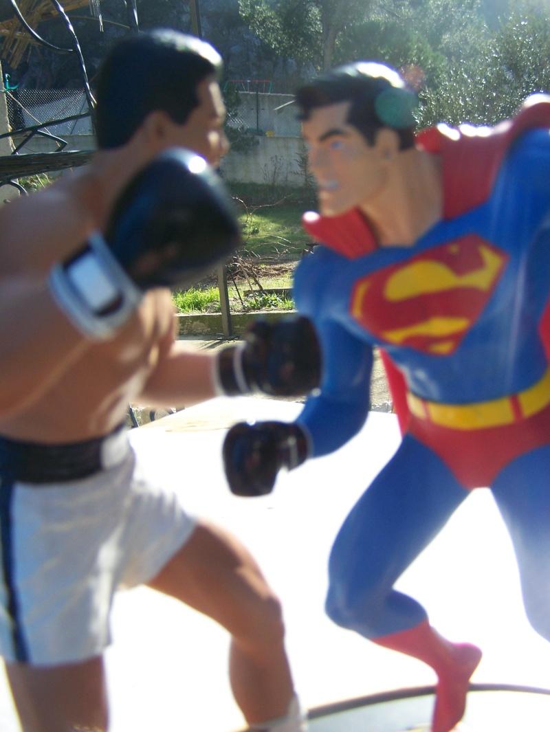 Superman versus Mohamed Ali diorama par DC Direct - Page 2 100_5314