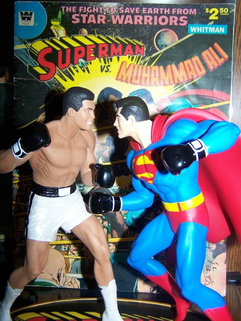 Superman versus Mohamed Ali diorama par DC Direct - Page 2 100_5318