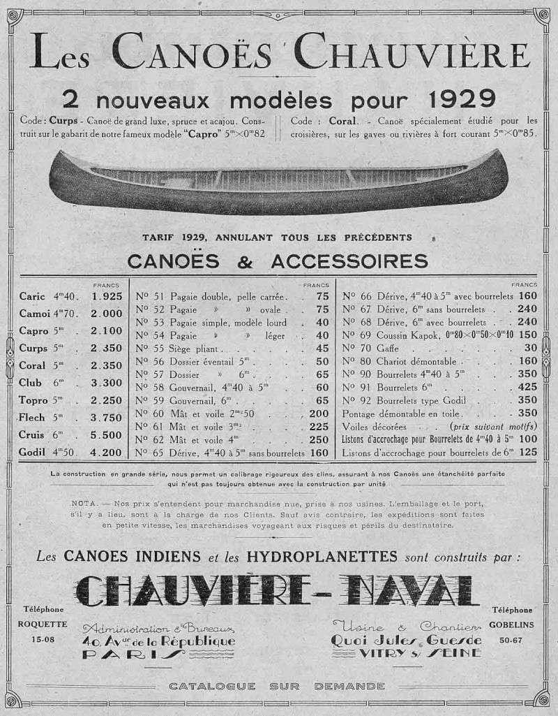 canoe bois...éviter les mauvaises surprises.... Chauvi10