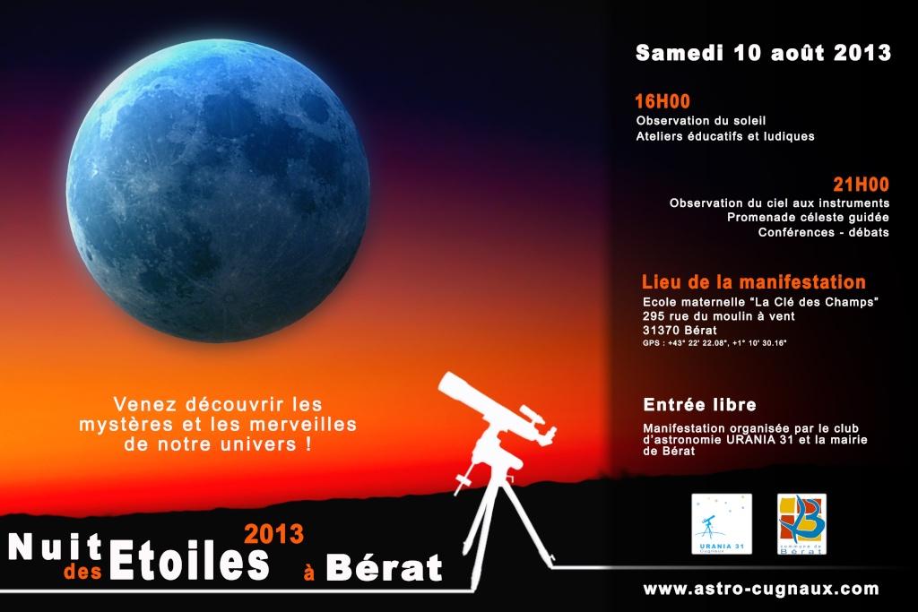 La Nuit des Etoiles 2013 à Bérat (31 - Sud Toulouse)   Nde20111