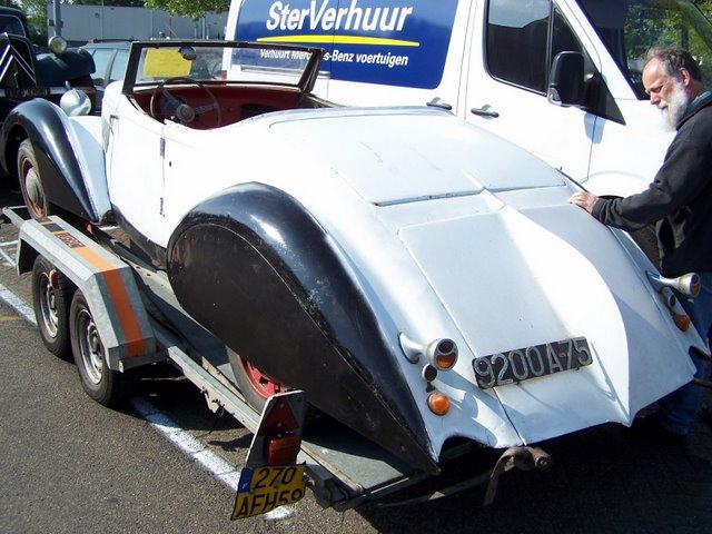 Rallye des Carrosseries Spéciales de Traction en Bourgogne Clabot12