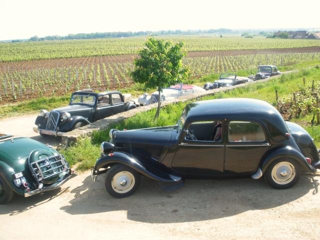 Rallye des Carrosseries Spéciales de Traction en Bourgogne Domain21