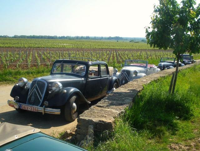 Rallye des Carrosseries Spéciales de Traction en Bourgogne Domain22