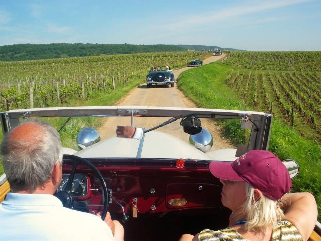 Rallye des Carrosseries Spéciales de Traction en Bourgogne Domain23