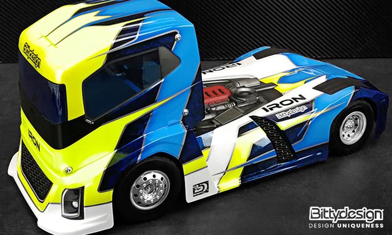 [OLD NEW] Carro IRON 1/10 Truck pour 4TEC par BittyDesign - BDTRK-190IRO Truck 190mm body Bittyd16