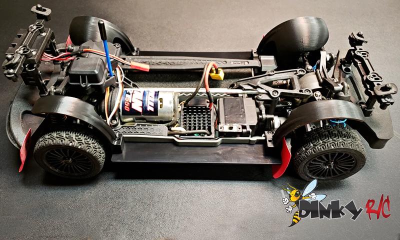 [NEW] Kit Rally pour 4TEC 2.0 par Dinky RC - Traxxas 4Tec Rally Kit Dinkyr10