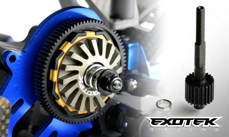 [NEW] Slipper Turbine & Axe de couronne pour 1/10 2WD 4X2 par Exotek Racing - 2015 2017 Exotek11