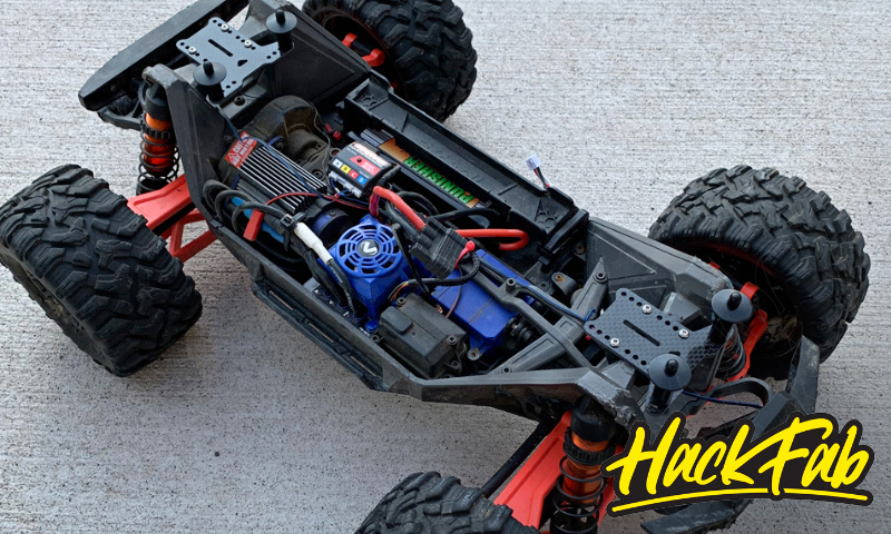 [NEW] Support carro universel pour MAXX - Traxxas Maxx Universal Body Mount System Hackfa10