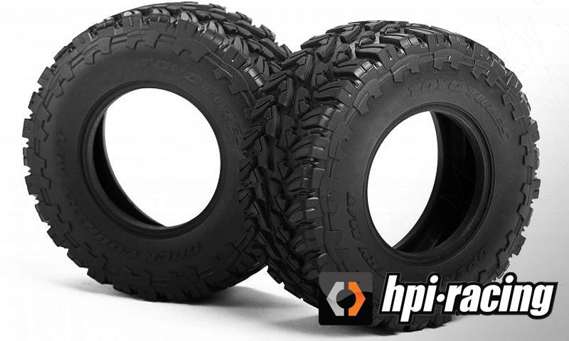 """[NEW] Pneu Toyo SC 2.2""""/3.0"""" par HPI - #160075 - Jumpshot SC Toyo Tires Open Country M/T Hpi_to10"""