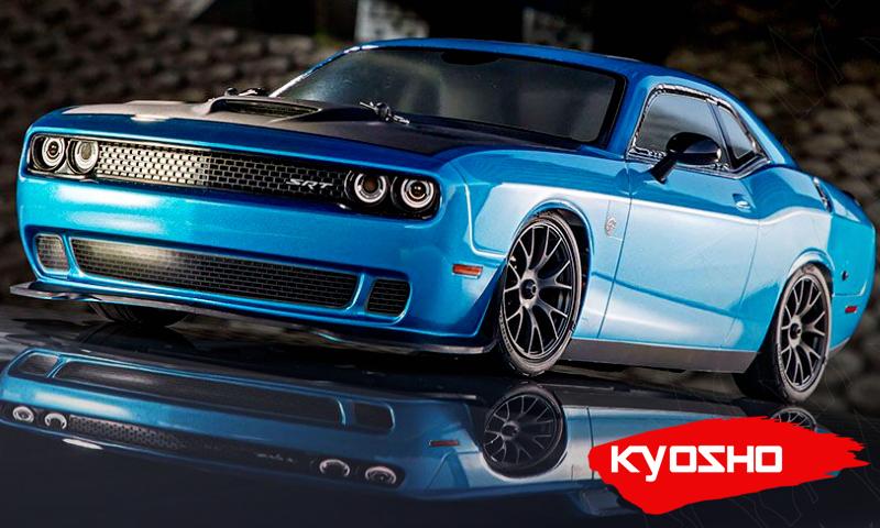 [NEW] Carro Fazer Dodge Challenger SRT Hellcat B5 Bleu pour 4TEC 3.0 par Kyosho   Kyosho11