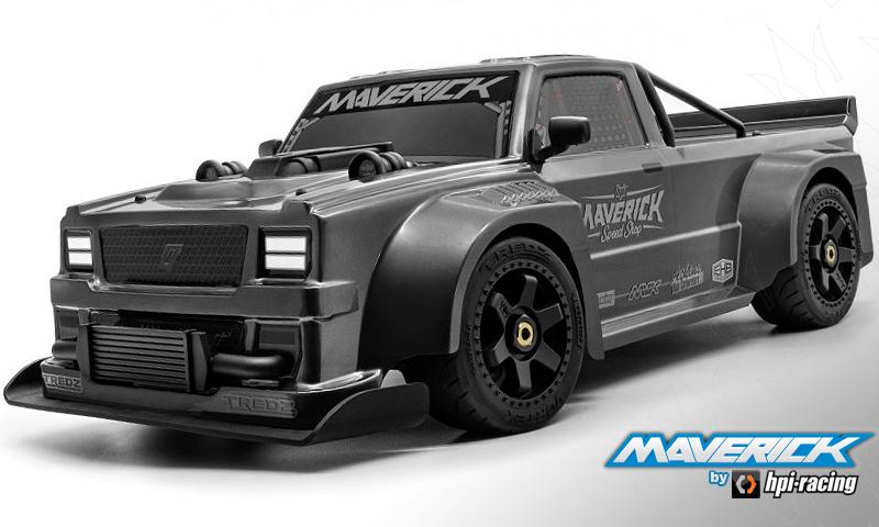 [NEW]Carro du QuantumR taille du 4TEC 2.0 Maverick / HPI Racing - Clear body QuantumR Maveri10