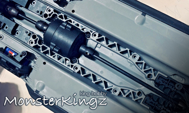 [NEW] Cardan Central pour E-Revo 2.0 par MonsterKingz Center Driveshafts Drive shafts CVD Mk_210