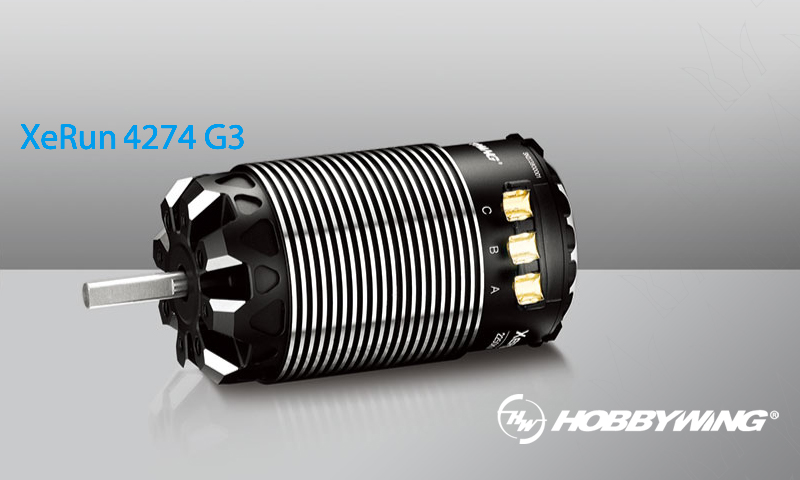 [NEW]Moteur Sensored 4274 G3 2250KV par HobbyWing - Hobby Wing Motor 30405001 Moteur10