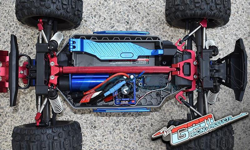 [NEW]Renfort Central, Stabilisateur Avant/Arrière pour HOSS/RUSTLER 4X4/SLASH 4X4 par GPM Racing New_gp10