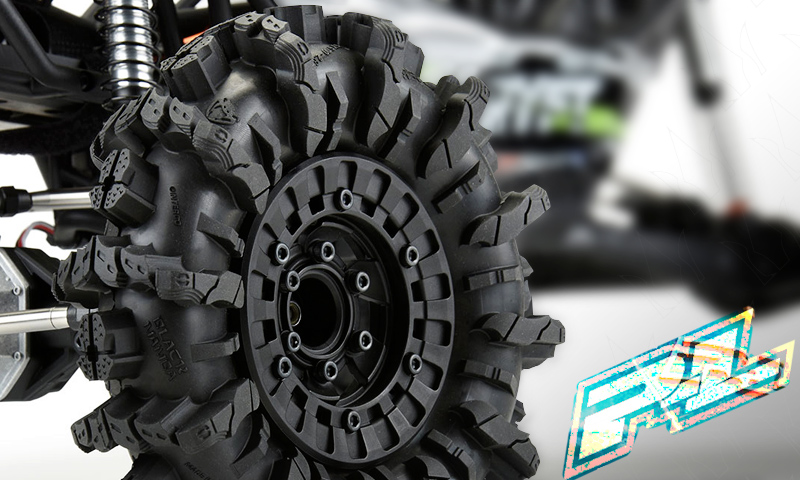 "[NEW]Pneu Interco Black Mamba & Jante Vice CrushLock 2.6"" Pro-LIne - Truck Tires Rims Wheels New_pr11"
