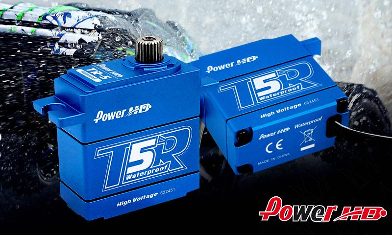 [NEW]Mini Servo TR-5 WaterProof Haute voltage 1/16 Power HD - New all-metal mini high voltage servo Power_10