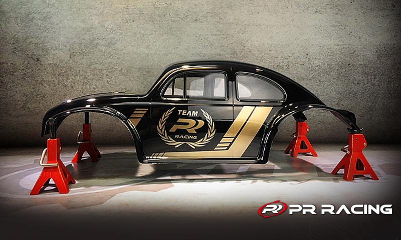 [NEW]Carro Volkswagen Coccinelle 1/10 Slash Rustler Bandit PR Racing- 77470026 Body Clear Bug Beetle Pr_rac10