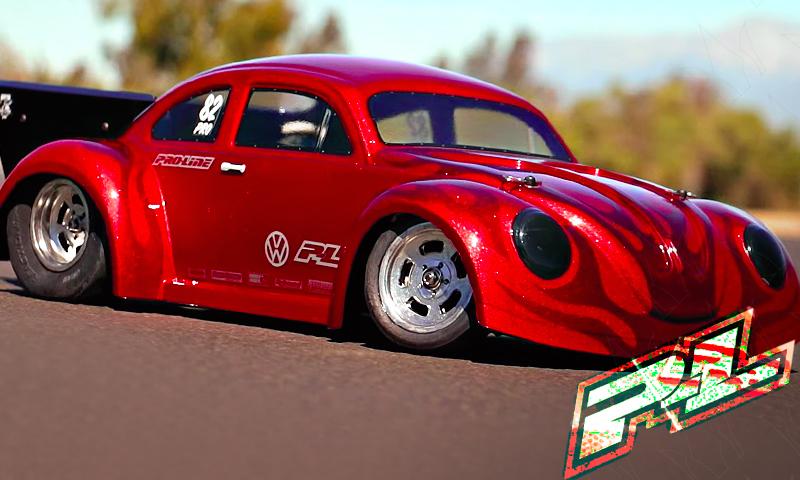 [NEW]Carro Drag Coccinelle Beetle Volkswagen Slash 2WD - 3558-00 Volkswagen Drag Bug 1:10 Clear Body Pro-li15
