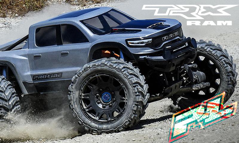 [NEW]Carro Dodge Ram 1500 2021 TRX X-MAXX - Pre-Cut Clear Body Pro-li19