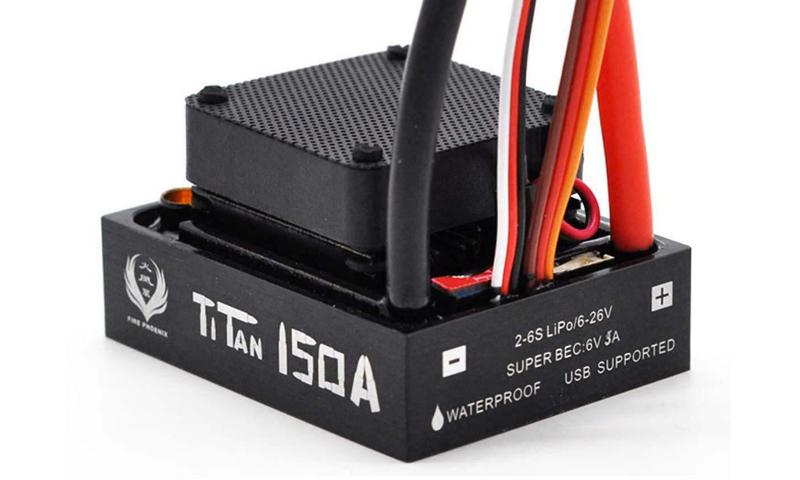 [NEW]ESC 1/8 & 1/5 TITAN 150A/950A Waterproof avec et sans capteur Sensored Hobbypower - Page 3 S-l16010