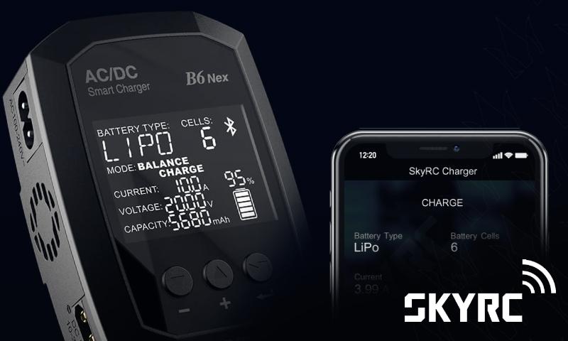 [NEW] Chargeur B6 Nex 6S 10A AC/DC 200W / App - QR Code - SK-100174 Charger B6 Nex AC/DC 200W 10A Skyrc_10