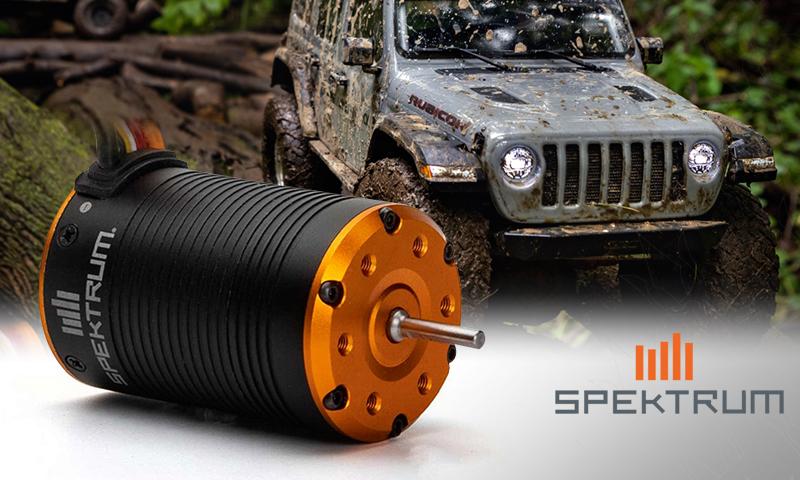 [NEW]Moteur Sensored ESC Combiné Firma 2-in-1 Spektrum - Firma 2-in-1 Brushless Crawler Motor/ESC Spektr10