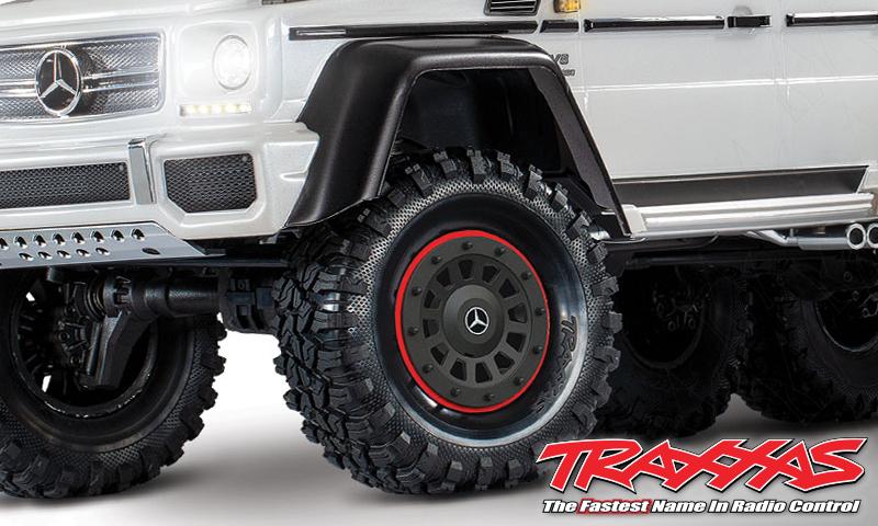 "[NEW] Pneu Canyon RT 2.2"" avec diamètre extérieur 1.9"" - Pneus Wheel 8871 Tires, Canyon RT 4.6x2.2"" Traxxa11"
