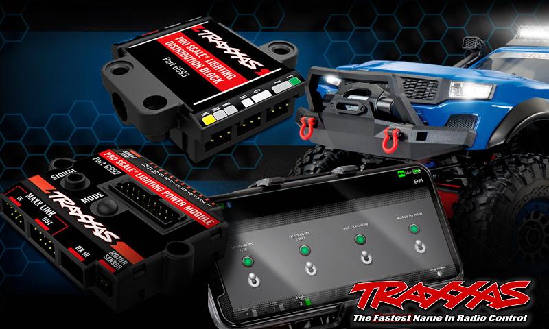 [NEW]Système lumière TRX4 TRX6 Traxxas - 6591 6592 6593 Pro Scale advanced lightning control system Traxxa14
