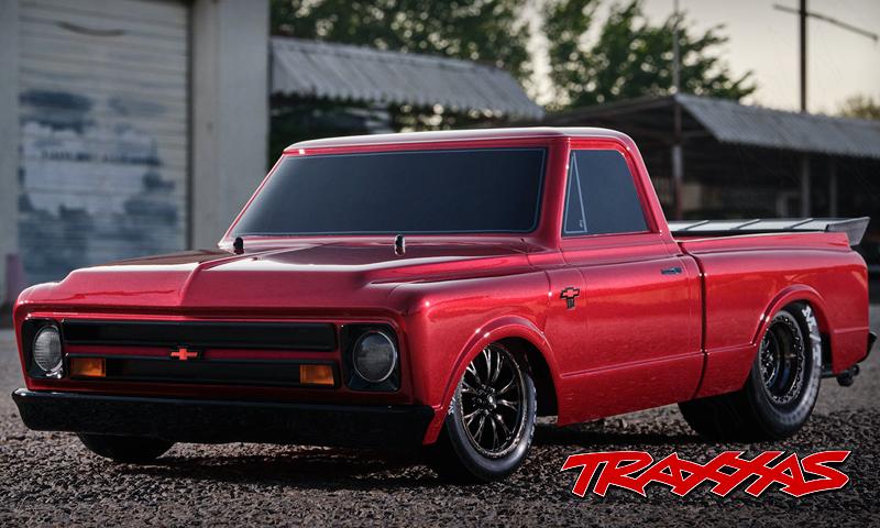 [FUTURE NEW] 1967 Chevrolet C10 Drag Slash 2WD 1/10 Traxxa17