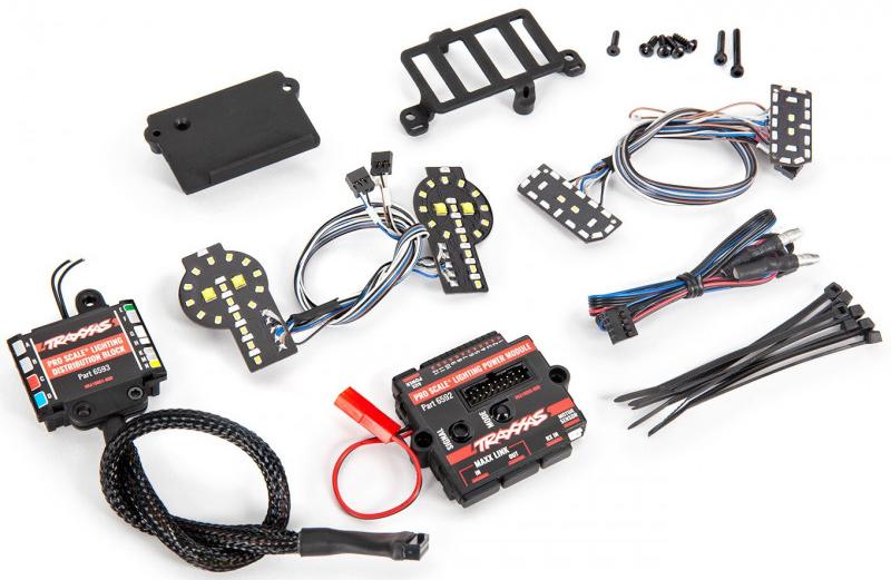 [NEW]Système lumière TRX4 TRX6 Traxxas - 6591 6592 6593 Pro Scale advanced lightning control system Traxxa19