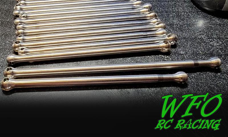 [PRE-NEW] X-Maxx Titanium CVDs Long and Short par WFO Racing Wfo_ca10