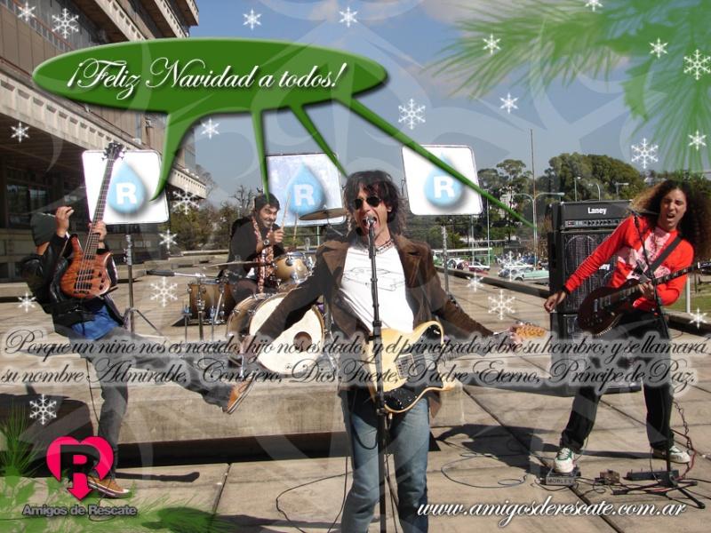 ¡Mensaje navideño de «Amigos de Rescate» para todos! Afeliz10