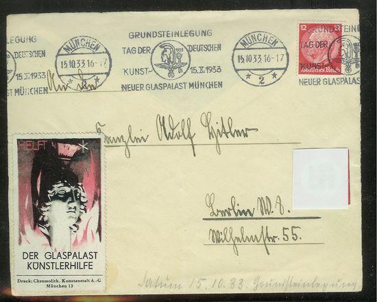 Reizvolle Briefe des Deutschen Reichs Ahbrie10