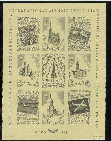 Gedenkblätter und Vignetten Ifa19612