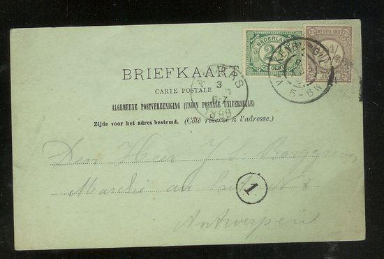 Niederlande -Alte Briefe Nieder10