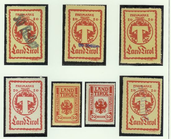 Paketkontrollmarken für Tirol Tirol212