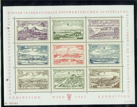 Gedenkblätter und Vignetten Wipa1910
