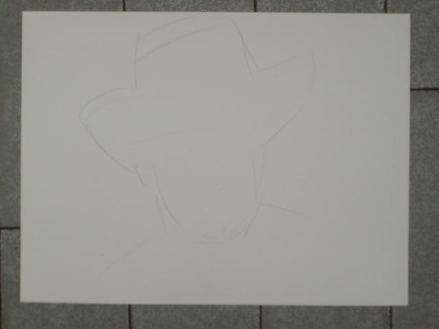 Portrait Robert Conrad/James West [Graphite] P5060111