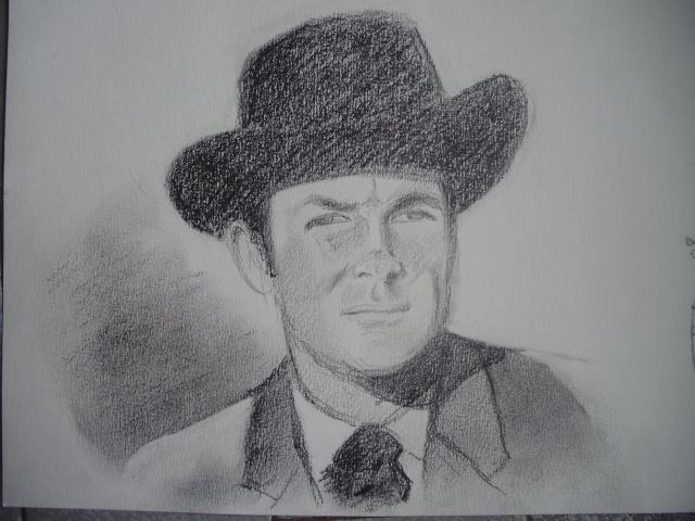 Portrait Robert Conrad/James West [Graphite] P5090410