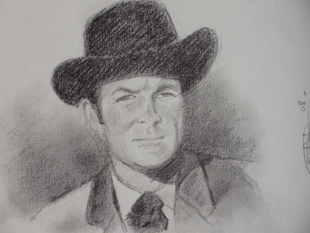 Portrait Robert Conrad/James West [Graphite] P5090411