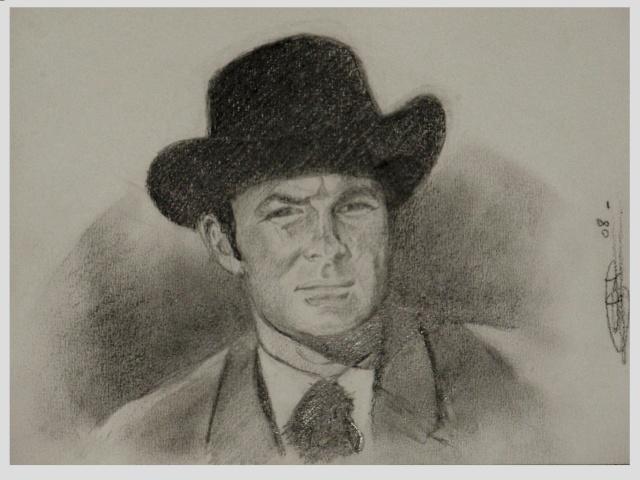Portrait Robert Conrad/James West [Graphite] Pc190719